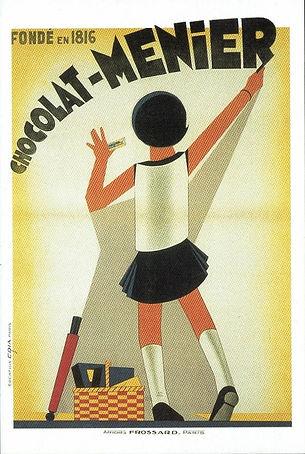 Publicité Chocolat Menier