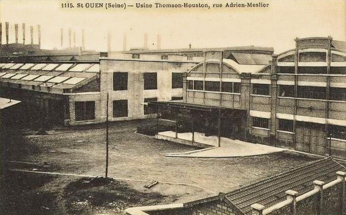 Thomson-Houston - Alstom -  Areva Saint-Ouen (1937-2006)