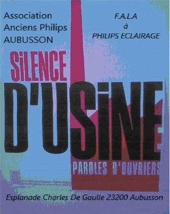 """Livre """"Silence d'Usine Paroles d'ouvriers"""""""