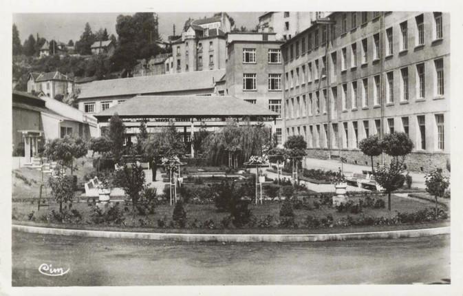 Les jardins de l'usine Philips Eclairage