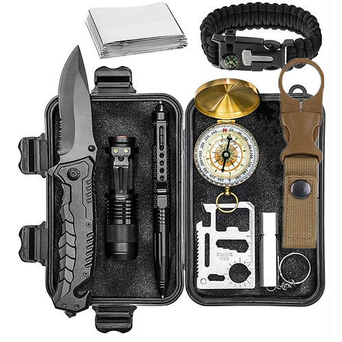 Survival Kit Outdoor/Camping/Emergency Travel Sized