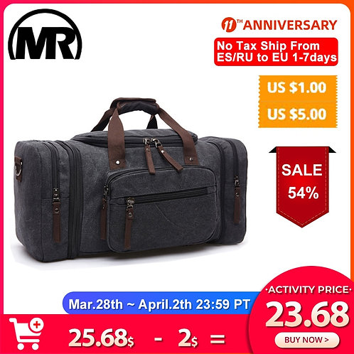 MARKROYAL Canvas Travel Bags Large Capacity
