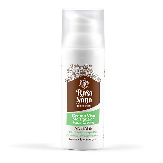 Crema viso antiage per pelle grassa - Rasayana