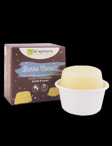 Burro coccola - crema solida nutriente e lenitiva
