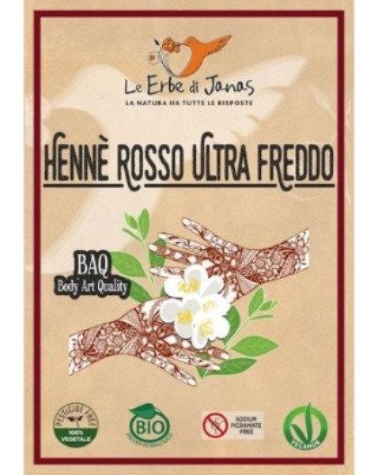 HENNE' ROSSO ULTRA FREDDO