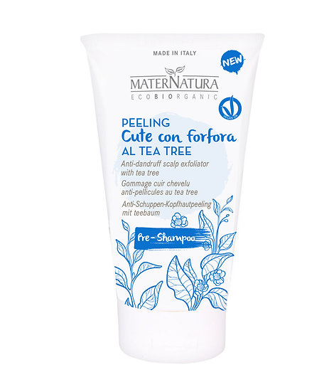 PEELING CUTE CON FORFORA AL TEA TREE 150 ml
