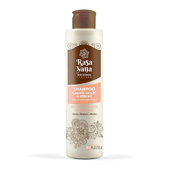Shampoo ristrutturante per capelli secchi - Rasayana