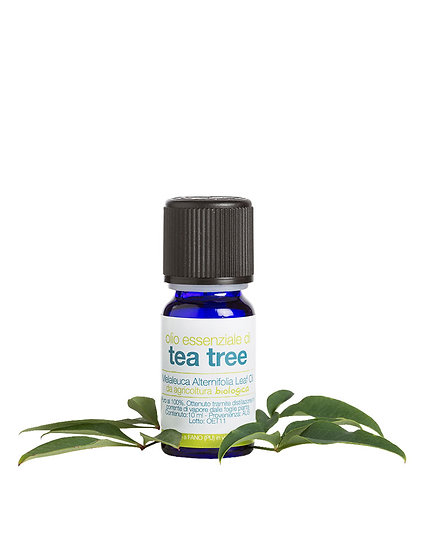 OLIO ESSENZIALE DI TEA TREE BIO 10 ml