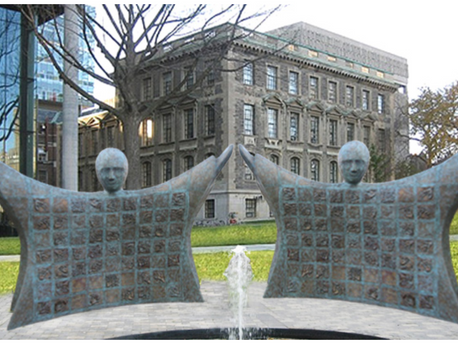 The Child Abuse Survivors' Monument
