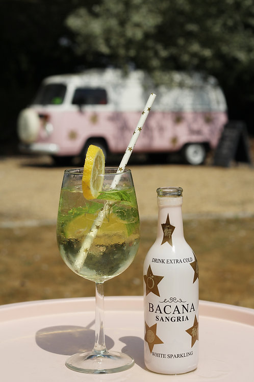 Box of 12 Bacana White Sangria 250ml Bottles