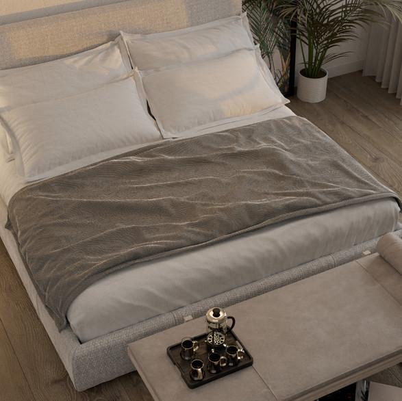 3D Interior Rendering/Bedroom