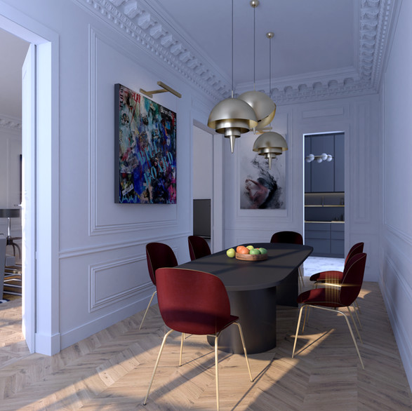 3D Rendering/Living