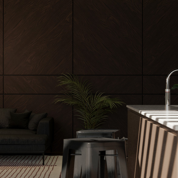 3D Rendering/Living/Kitchen