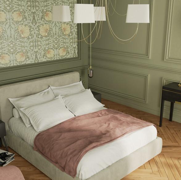3D Rendering/Bedroom