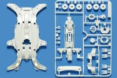 MA Reinforced Chassis White