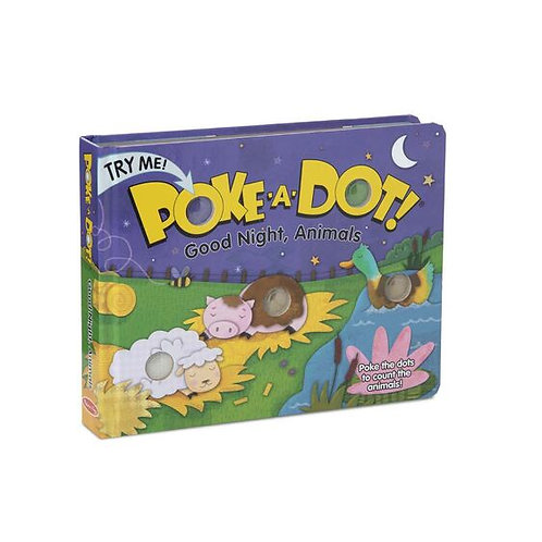 Poke-a-dot Good Night, Animals - M&D