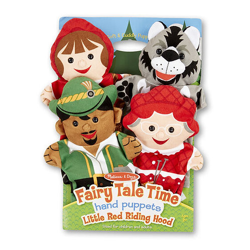 Fairy Tales Time Hand Puppets - M&D