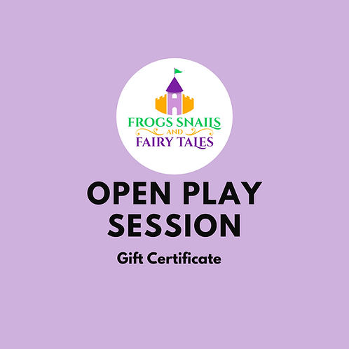 Gift Open Play Session