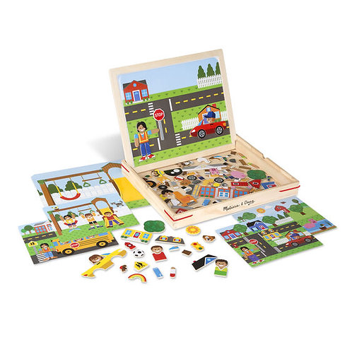 Magnetic Matching Picture Game - M&D