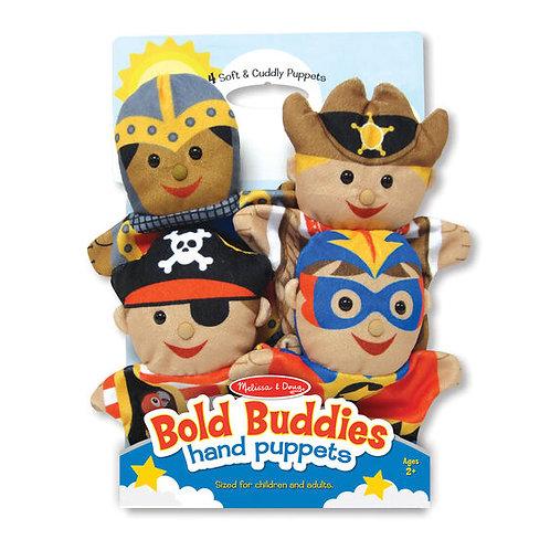 Bold Buddies Hand Puppets - M&D