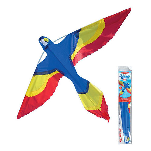 Rainbow Parrot Kite - M&D