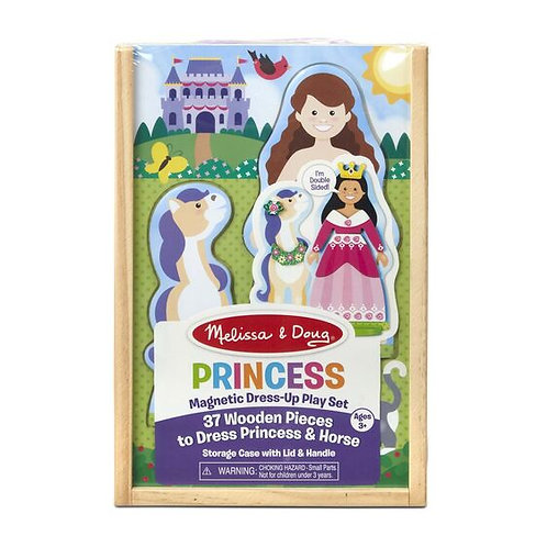 Princess Magnetic Dress Up Play Set - M&D