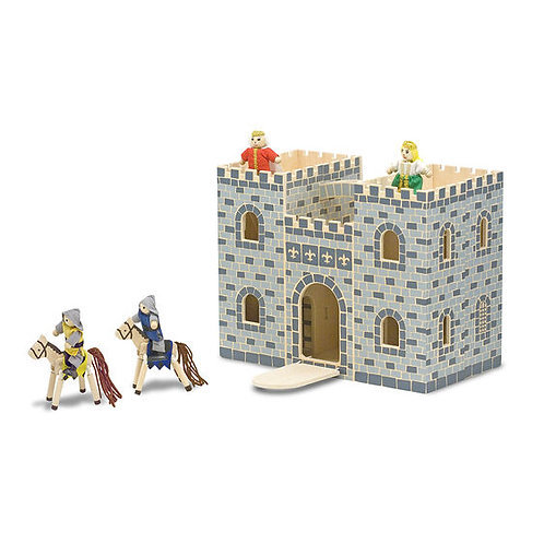 Fold And Go Wooden Castle - M&D