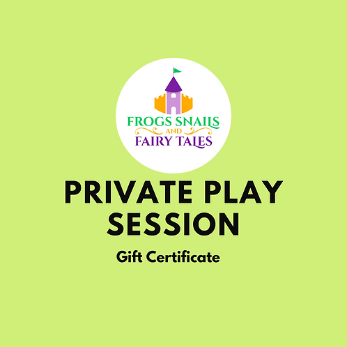 Gift - Private Play Session (Weekdays)