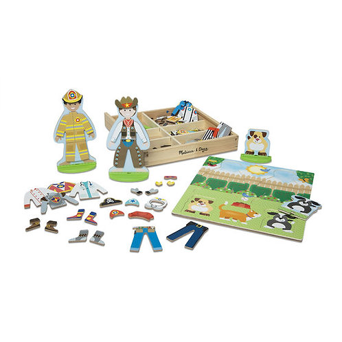 Occupations Magnetic Pretend Play Set - M&D