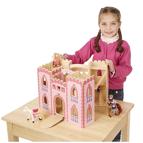 Fold And Go Princess Castle - M&D