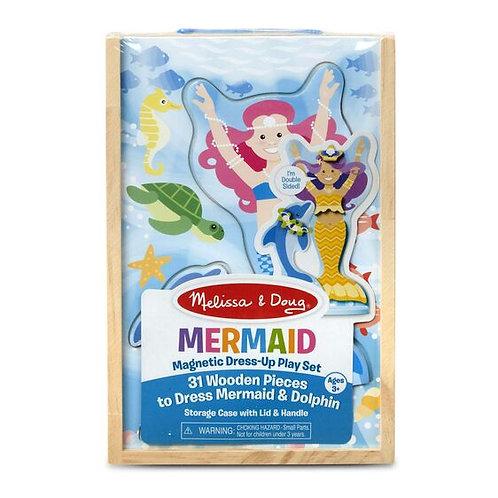 Mermaid Magnetic Dress Up Play Set - M&D