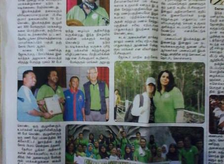 GES does it again. Total of 310 Mangrove saplings at Tanjung Piai ramsar 70 enthusiastic volunteer.