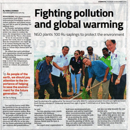 Fighting Pollution & Global Warming