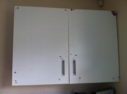 Battered cupboards