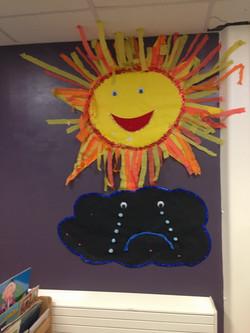 The Purple Room Sun and Cloud