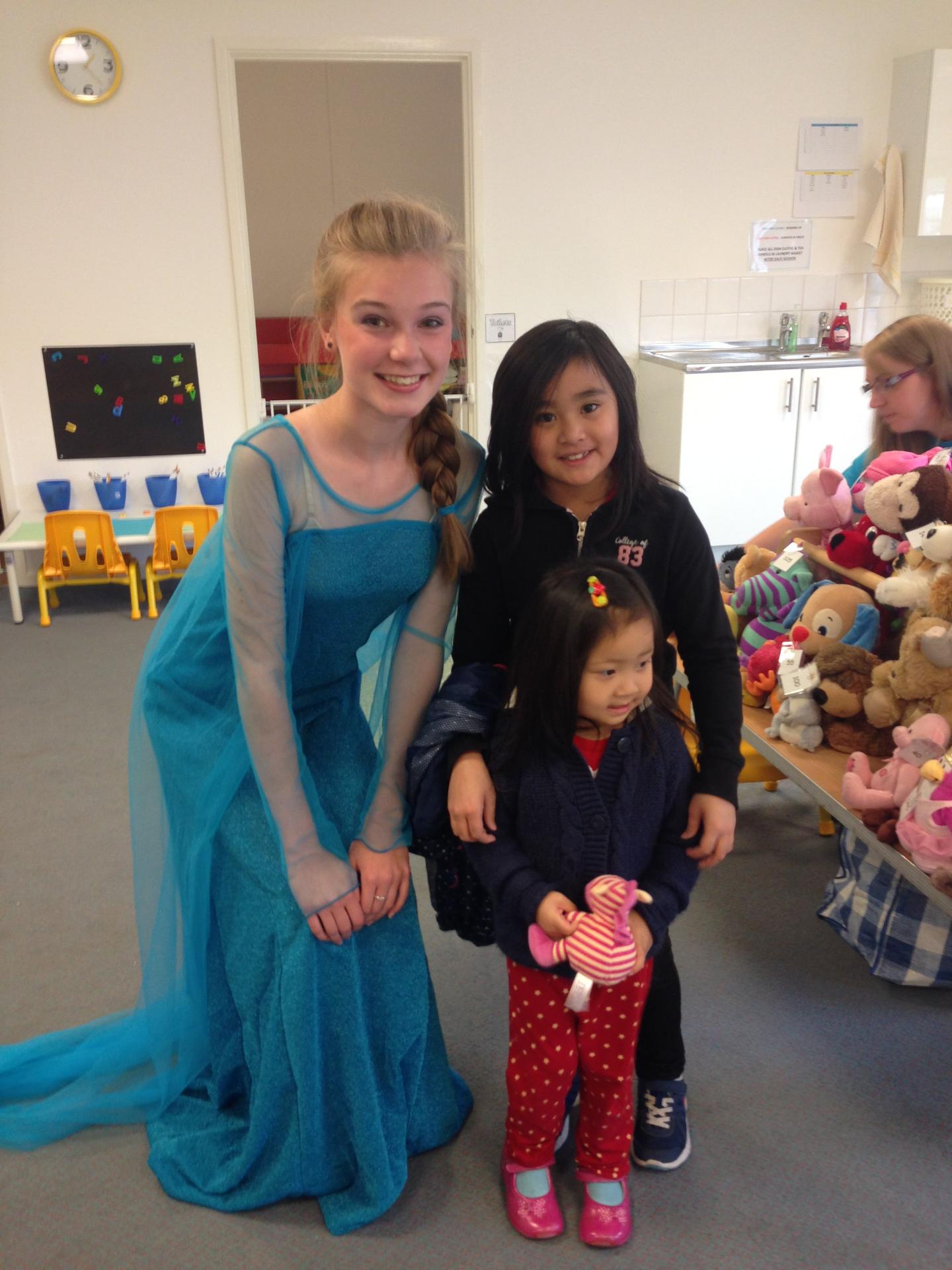 Elsa & Friends