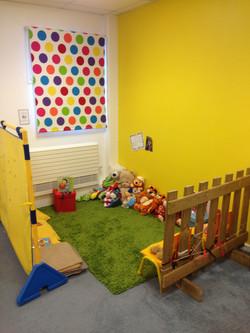 Yellow Room Cosy Corner