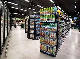 עיצוב חנויות מזון