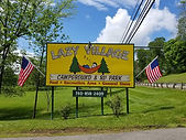 lazy village sign with flags.jpg