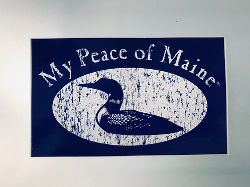 My Peace of Maine Bumper Sticker