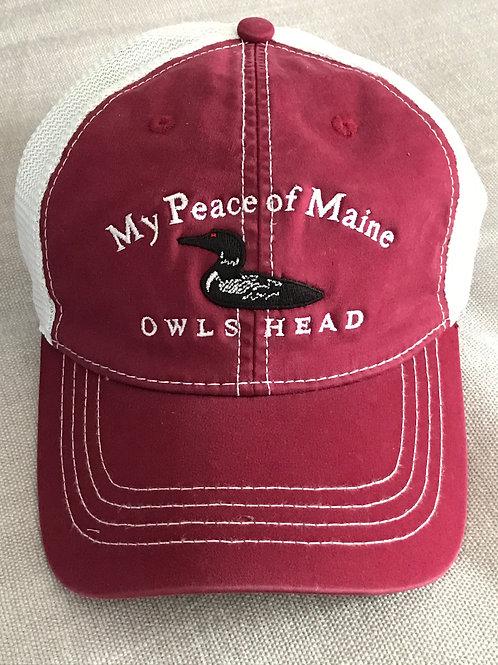 Owls Head Red-Eyed Loon ™ Trucker Hat