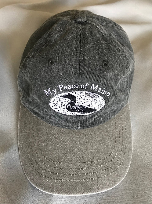 My Peace of Maine canvas hat