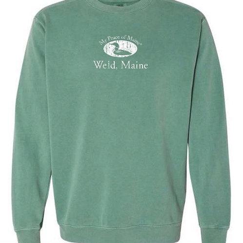 Comfort Colors Crewneck Sweatshirt / Weld, Maine