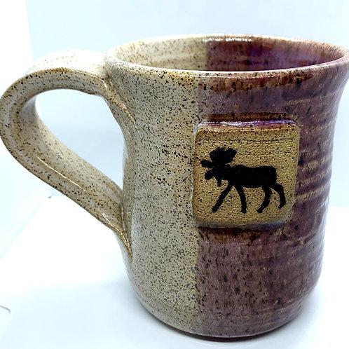 Plum Moose Mug
