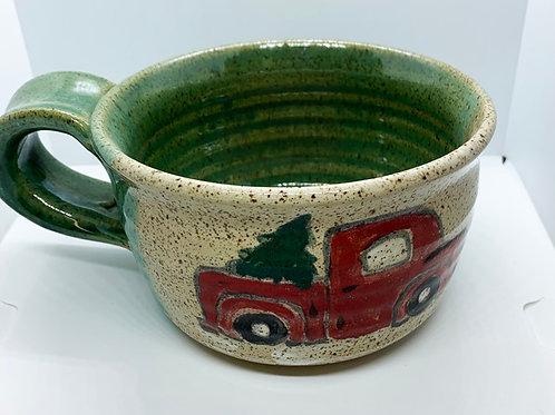 Merry Truck Mug