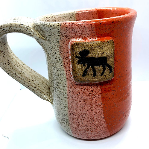Orange Moose Mug
