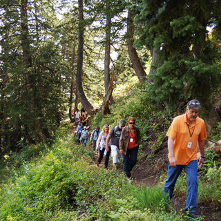 Hiking with Achieve Today Students