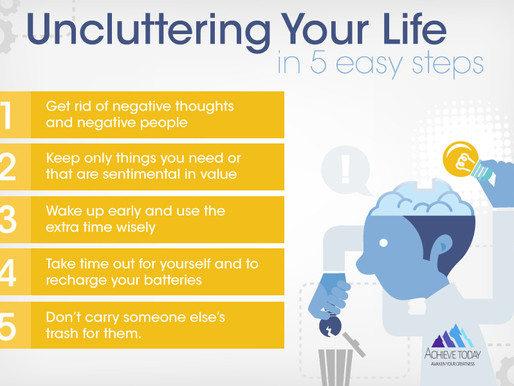 Uncluttering Your Life in 5 Easy Steps