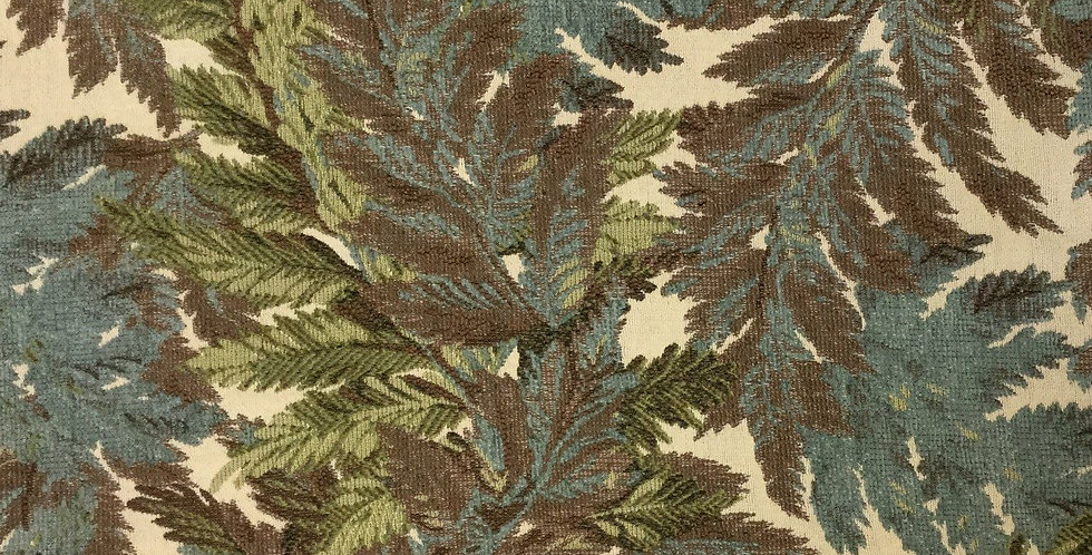 Multicolored Leaves - Blue/Brown/Green