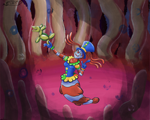 Zanni, the Clownfish Mermaid